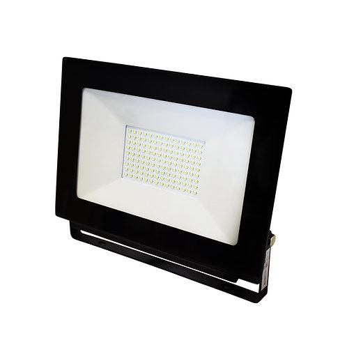 Reflector LED IP65, 10W, 6.500K, negro