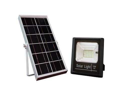 LUM. SOLAR 25W C/ PANEL SOLAR EXTERNO 6000k
