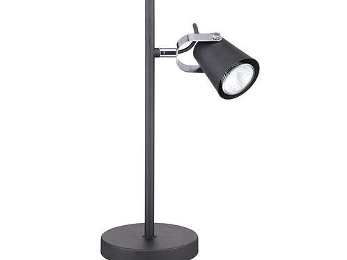 LAMPARA ESCRITORIO 1L GU10 AURUS NEGRO MATE (SIN AMPOLLETA)