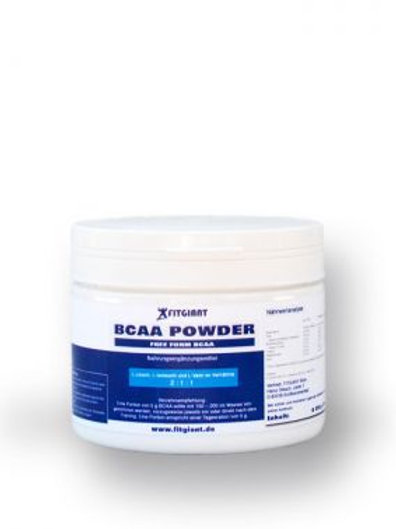 Fitgiant BCAA Pulver 500g