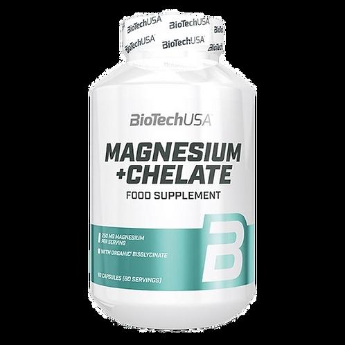 BioTech Magnesium + Chelate 60 Kapsel/62g