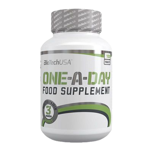 BioTech USA One-A-Day, 100 Tabletten  (170g)