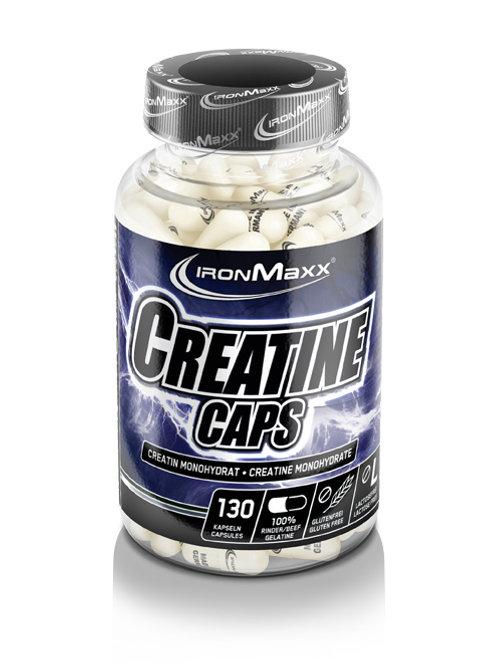 IronMaxx Creatine Caps, 130 Kapseln (120g)