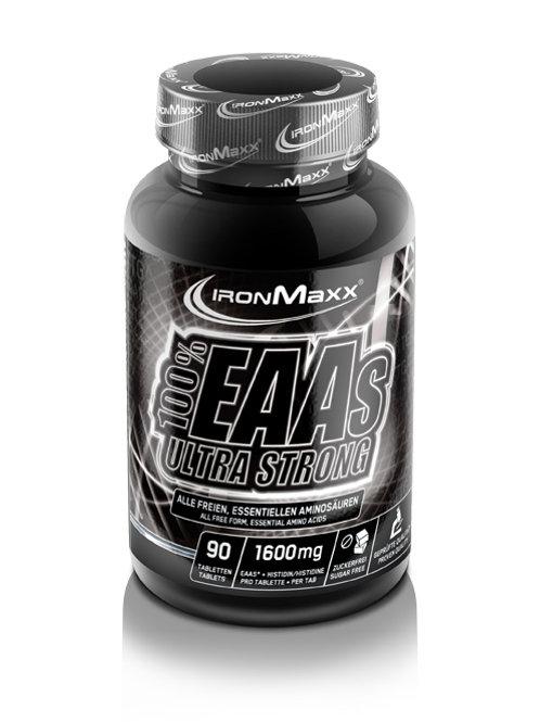 Ironmaxx 100% EAAs Ultra Strong, 90 Tabletten  (100g)