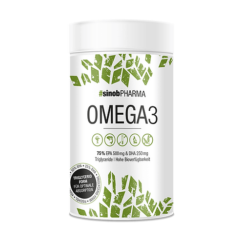Sinob Pharma Omega 3 Max Liquid Caps. 120 St.