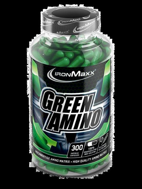 Ironmaxx Green Amino, 300 Kapseln  (205g)