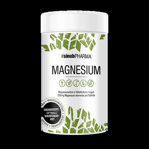 Sinob Pharma Magnesium Citrat 120 Tabl., 198 g
