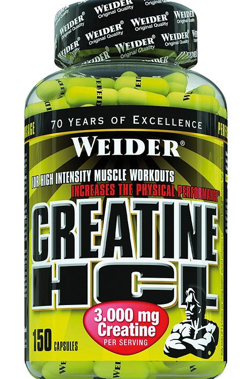 Weider Creatine HCL, 150 Kapseln  (200g)