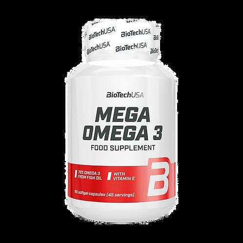 BioTech USA Omega 3, 90 Softgel-Kapseln (65g)