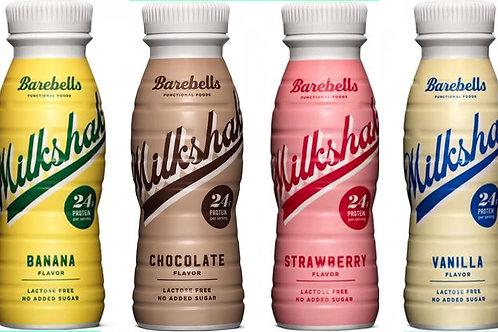 Barebells Milkshake Protein Drink, 8 x 330 ml Flaschen