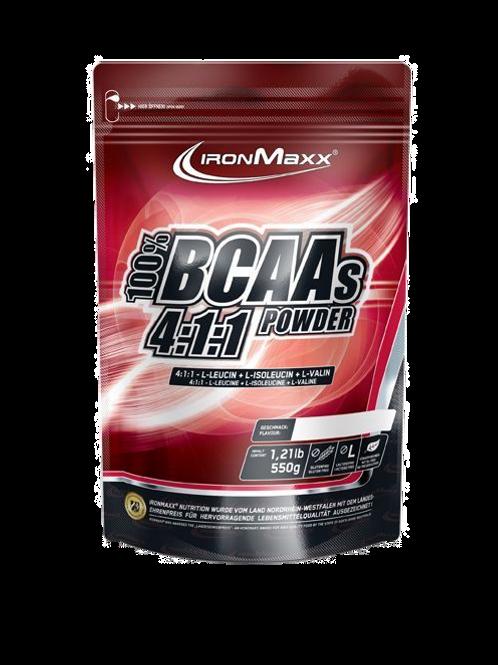Ironmaxx BCAAs 4:1:1 Powder, 550 g Beutel