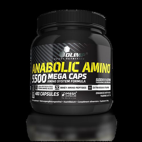 Olimp Anabolic Amino 5500 Mega Caps, 400 Kapseln  (464g)