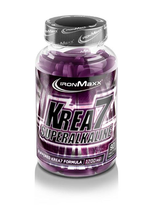 Ironmaxx Krea7 Superalkaline, 90 Tabletten  (100g)