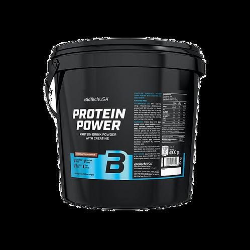 BioTech USA Protein Power, 4000 g Eimer