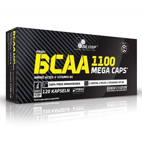 Olimp BCAA 1100 Mega Caps, 120 Caps  (153g)