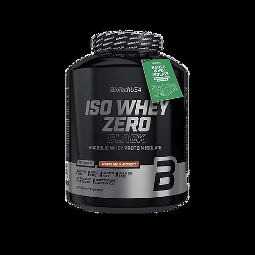 BioTech USA Iso Whey Zero Black, 2270 g Dose