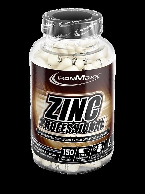 Ironmaxx Zinc Professional, 150 Kapseln  (125g)