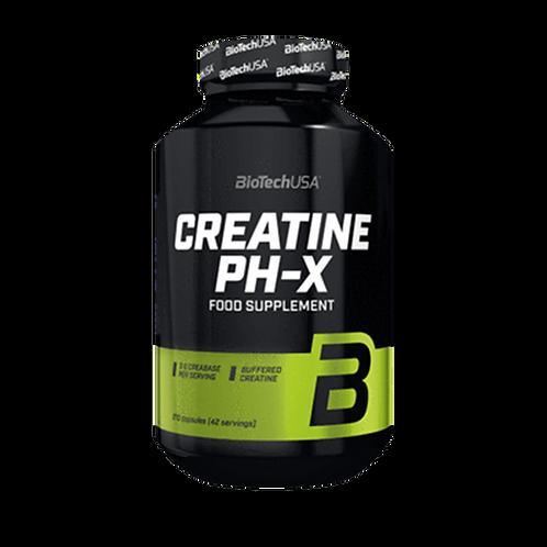 BioTech USA Creatine pH-X, 210 Kaps./185g