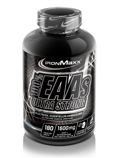 Ironmaxx 100% EAAs Ultra Strong, 180 Tabletten  (200g)