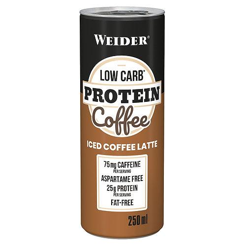 Weider Low Carb* Protein Coffee, 24 x 250 ml  (6000ml) inkl. 24x€ 0,25 Pfand
