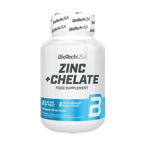 BioTech Zinc + Chelate 60 Kapseln/57g