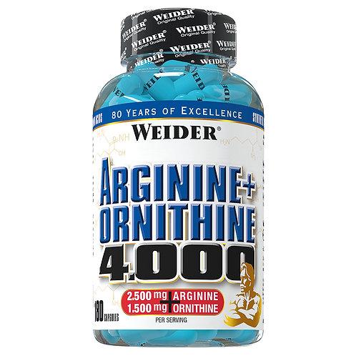 Weider Arginine + Ornithine, 180 Kapseln  (157g)