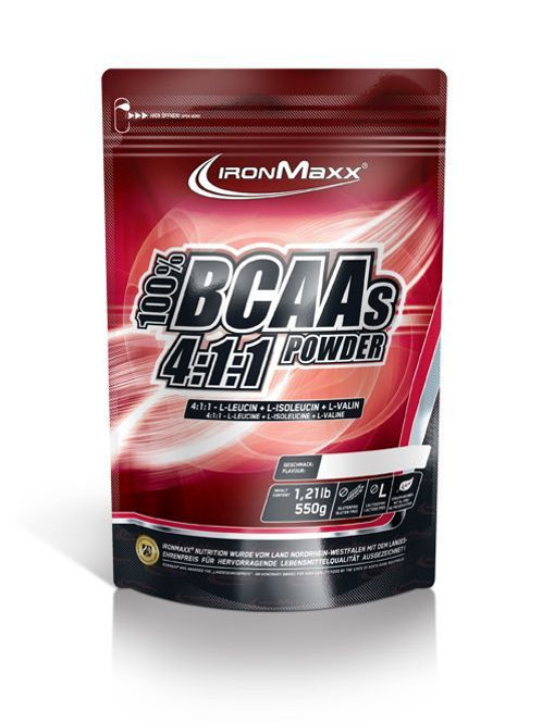 Ironmaxx BCAAs 4:1:1 Powder, 550 g Beutel