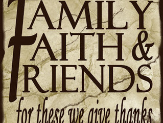 FAMILY & FRIENDS DAY March 17, 2019 at 11:00am