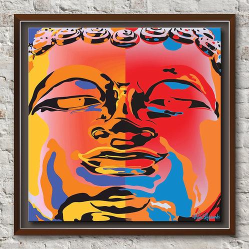 """Buddha Buddha"" Modern Art | Pop"