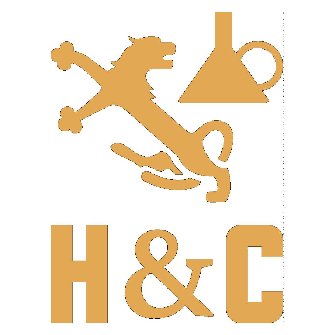 H&C-LOGO_INITIALS-CYMK-SM_1COLOR-YELLOW