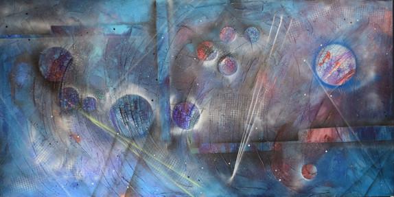 Interstellar No2, 200x100cm