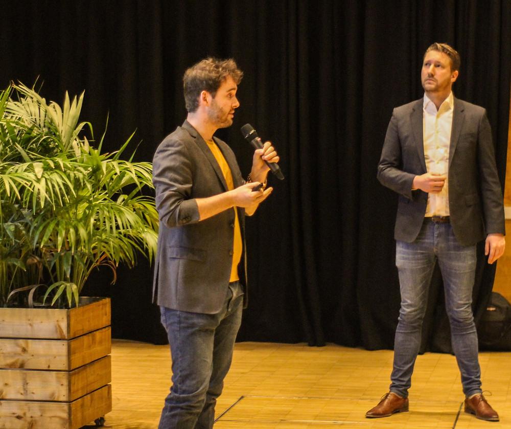 Fons Janssen and Thomas Dekker at YES AC 2019