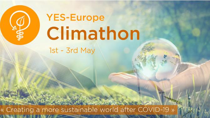 Our first virtual Climathon