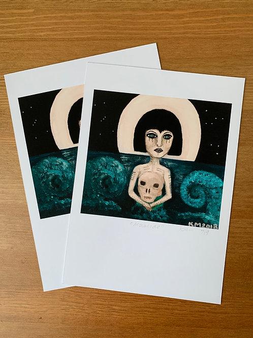 Moontide Gallery Print