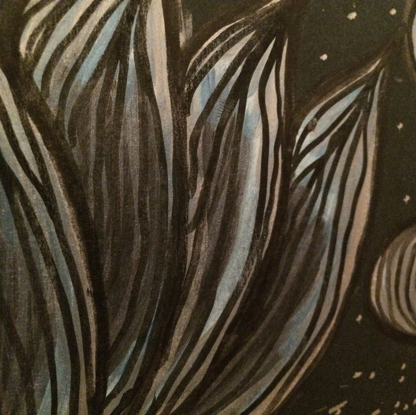 Blue Lotus (detail)