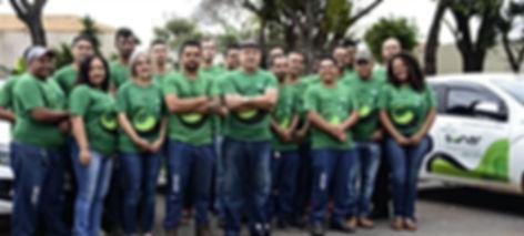 Equipe colaboradores, segurança eletrônica