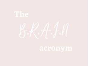 What is the B.R.A.I.N acronym?