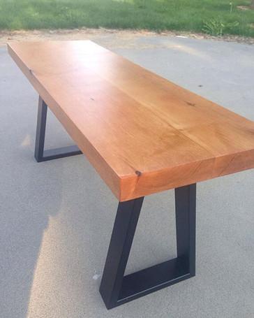 Fun bench build! Pretty sure the metal l