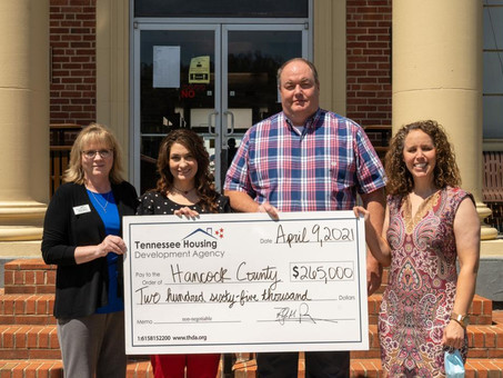 $265,000 HOME Grant Awarded to Hancock County