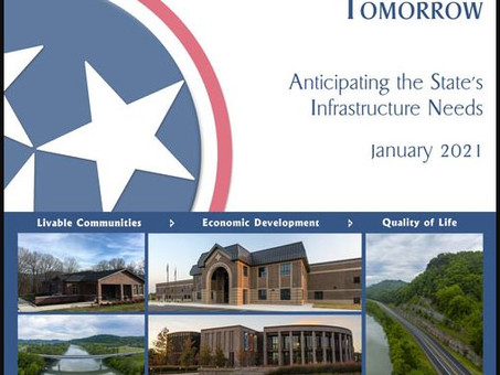 Tennessee's Public Infrastructure Needs Survey shows Projects in Northeast Tennessee Top 3.1 Billion