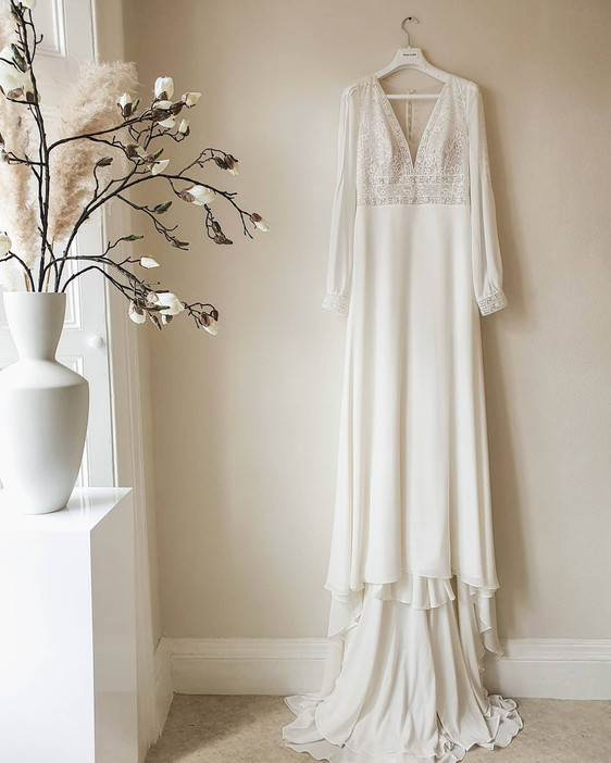 EVOLVED BRIDAL STUDIO - Bohemian and elegant garden style wedding dresses DEVON AND CORNWALL