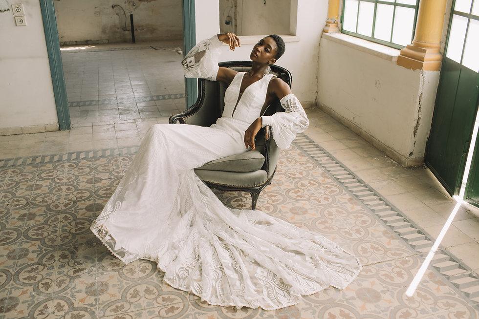 Rish Bridal Stockist, Devon, UK. Explore boho designer wedding dresses in Devon, Somerset and Cornwall