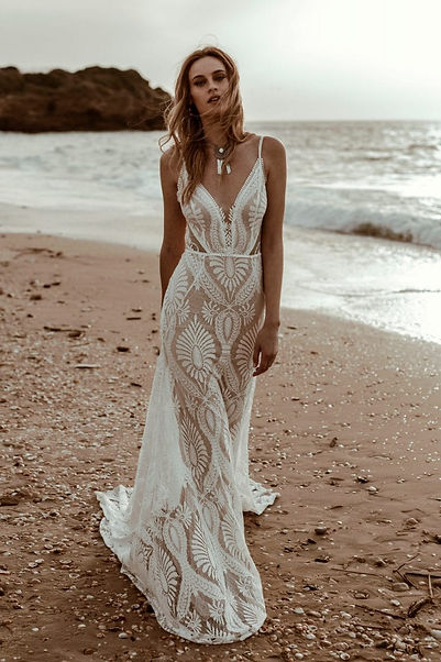 Designer Boho Wedding Dresses Devon and Cornwall