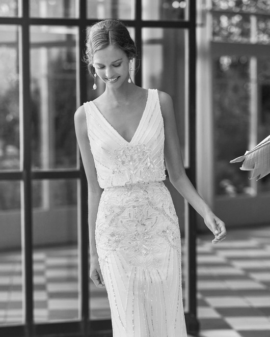 Gatsby Style Wedding Dresses in Devon and Cornwall