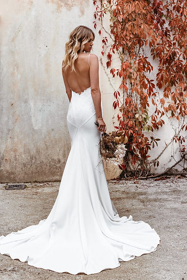 Lovers Society Jude - Beach, Civil,Modern and unusual wedding dresses at Evolved Bridal. Devon, Cornwall and Somerset