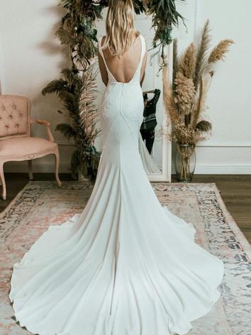 Minimal Wedding Dresses Devon UK