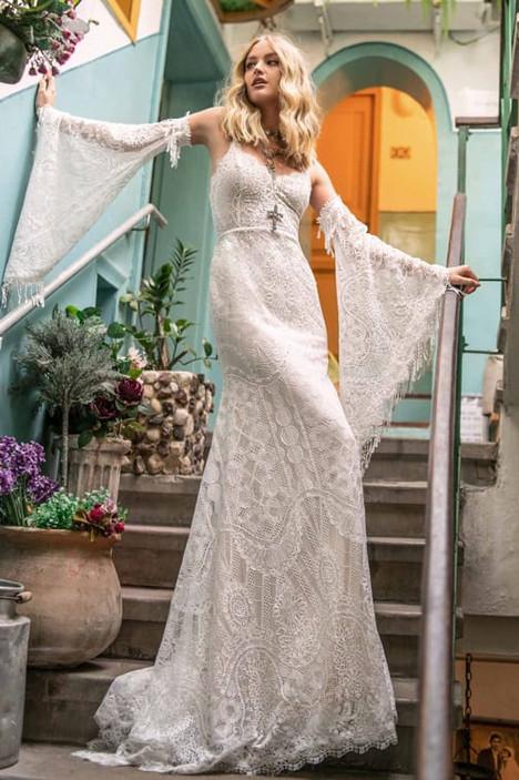 Rish Bridal Laura Dress - Boho and beach style wedding dresses at Evolved Bridal. Devon, Cornwall and Somerset