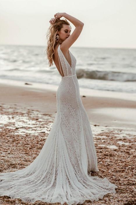 Beach Wedding Dresses at Evolved Bridal Shop. Devon, Somerset and Cornwall