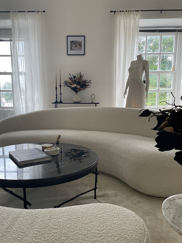 Evolved Bridal Studio - Contemporary and Modern Bridal Shop. Explore our bridal gown designers. Devon, Somerset and Cornwall