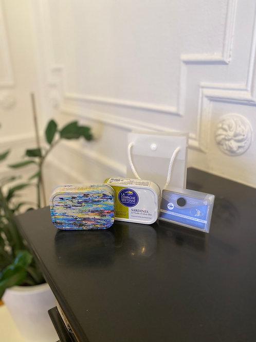 Coffret Carte 50 euro Sard2020 + 2 Boites Millésimées 2019